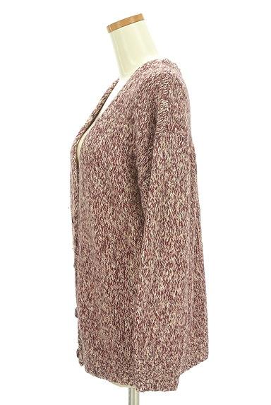 Lily Brown(リリーブラウン)の古着「ミックス糸Vネックカーディガン(カーディガン・ボレロ)」大画像3へ