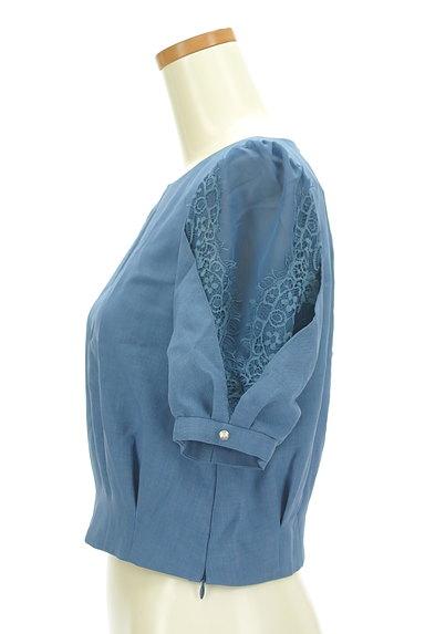 Rirandture(リランドチュール)の古着「シアーレース袖カットソー(カットソー・プルオーバー)」大画像3へ