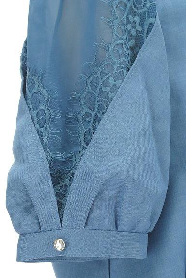 Rirandture(リランドチュール)の古着「シアーレース袖カットソー(カットソー・プルオーバー)」大画像5へ