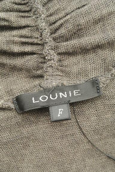 LOUNIE(ルーニィ)の古着「ウエストリボンフロントオープンベスト(ベスト・ジレ)」大画像6へ