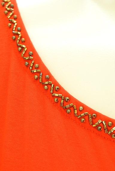 LOUNIE(ルーニィ)の古着「ビーズ刺繍フレンチスリーブカットソー(カットソー・プルオーバー)」大画像4へ
