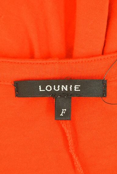 LOUNIE(ルーニィ)の古着「ビーズ刺繍フレンチスリーブカットソー(カットソー・プルオーバー)」大画像6へ
