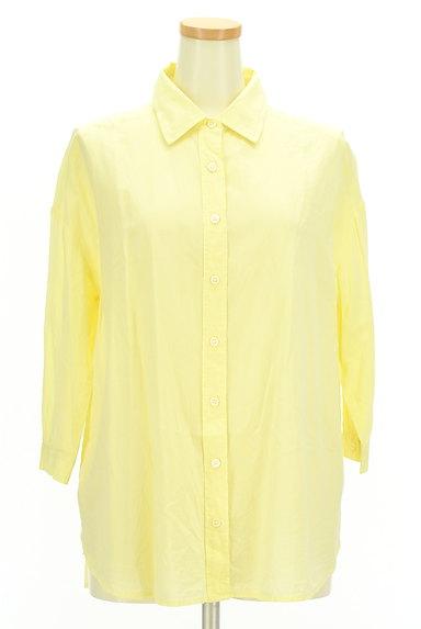 LOUNIE(ルーニィ)の古着「七分袖シアーシャツ(カジュアルシャツ)」大画像1へ