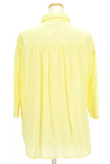 LOUNIE(ルーニィ)の古着「七分袖シアーシャツ(カジュアルシャツ)」大画像2へ
