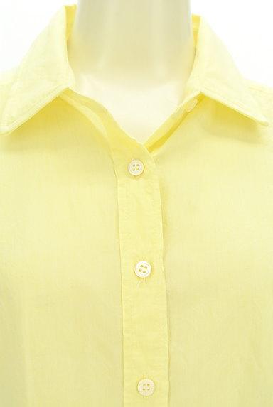 LOUNIE(ルーニィ)の古着「七分袖シアーシャツ(カジュアルシャツ)」大画像4へ