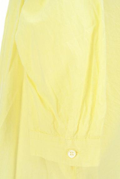 LOUNIE(ルーニィ)の古着「七分袖シアーシャツ(カジュアルシャツ)」大画像5へ
