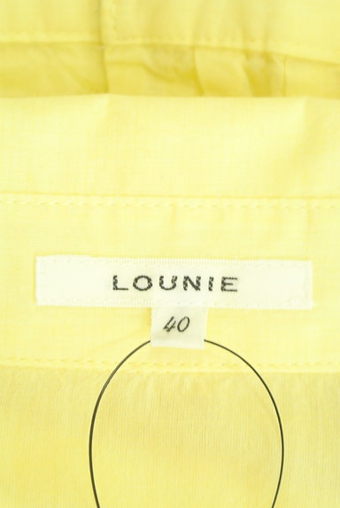 LOUNIE(ルーニィ)の古着「七分袖シアーシャツ(カジュアルシャツ)」大画像6へ