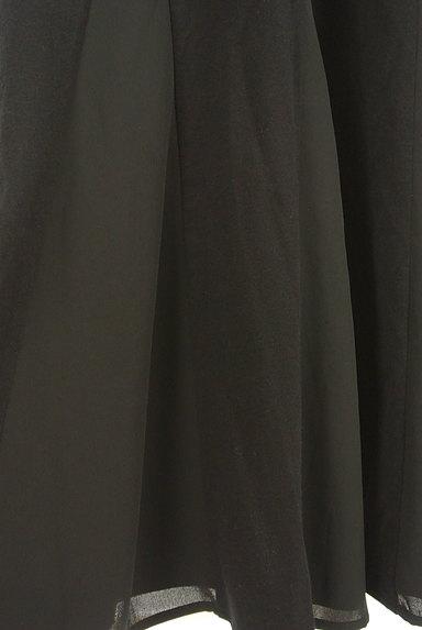 LOUNIE(ルーニィ)の古着「ウエストリボンフレンチスリーブワンピ(ワンピース・チュニック)」大画像5へ