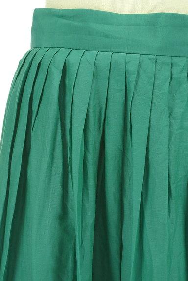 LOUNIE(ルーニィ)の古着「シアー微光沢フレアマキシスカート(ロングスカート・マキシスカート)」大画像4へ