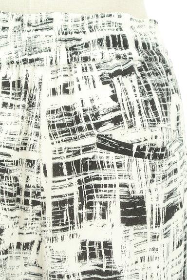 LOUNIE(ルーニィ)の古着「ウエストゴムチェック柄テーパードパンツ(パンツ)」大画像5へ