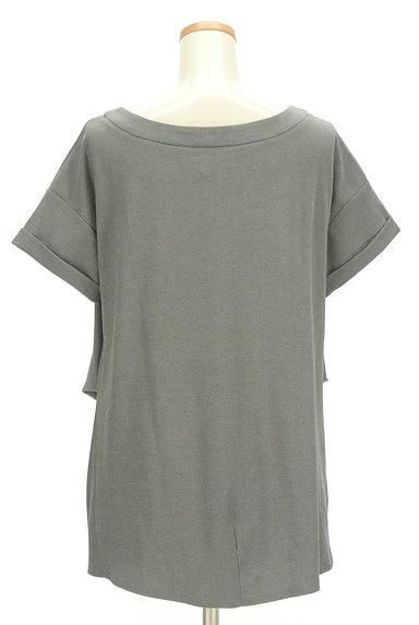 LOUNIE(ルーニィ)の古着「サイドタックロールアップ袖カットソー(カットソー・プルオーバー)」大画像2へ