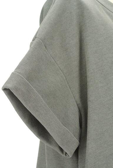 LOUNIE(ルーニィ)の古着「サイドタックロールアップ袖カットソー(カットソー・プルオーバー)」大画像4へ