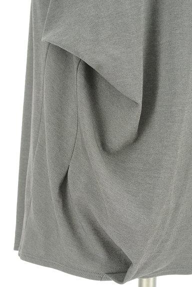 LOUNIE(ルーニィ)の古着「サイドタックロールアップ袖カットソー(カットソー・プルオーバー)」大画像5へ