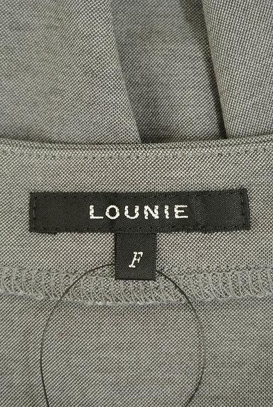 LOUNIE(ルーニィ)の古着「サイドタックロールアップ袖カットソー(カットソー・プルオーバー)」大画像6へ