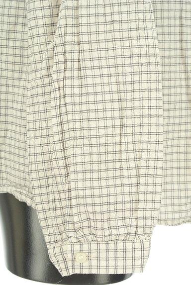 studio CLIP(スタディオクリップ)の古着「フリル襟チェック柄シャツ(ブラウス)」大画像5へ