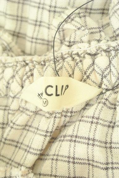 studio CLIP(スタディオクリップ)の古着「フリル襟チェック柄シャツ(ブラウス)」大画像6へ
