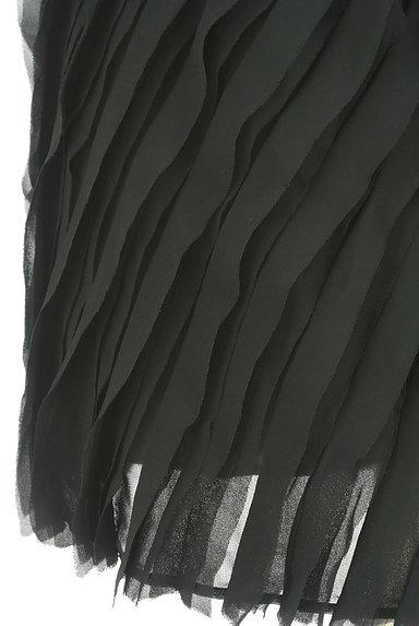 Riccimie NEWYORK(リッチミーニューヨーク)の古着「バイカラーフリル袖シフォン切替ワンピ(ワンピース・チュニック)」大画像5へ