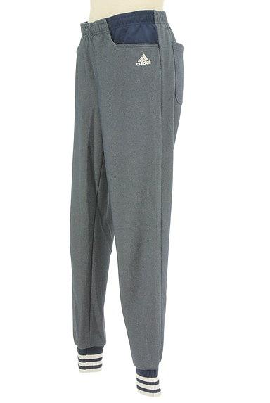 adidas(アディダス)の古着「ボーダーリブ裾ジャージパンツ(ジャージボトムス)」大画像3へ
