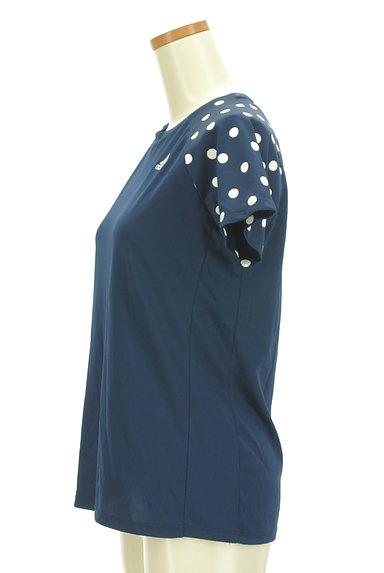 adidas(アディダス)の古着「ドット柄ラグランTシャツ(カットソー・プルオーバー)」大画像3へ