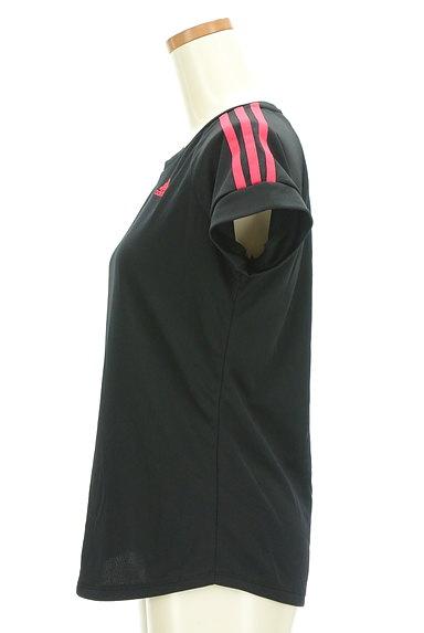 adidas(アディダス)の古着「ライン入りラグランTシャツ(Tシャツ)」大画像3へ