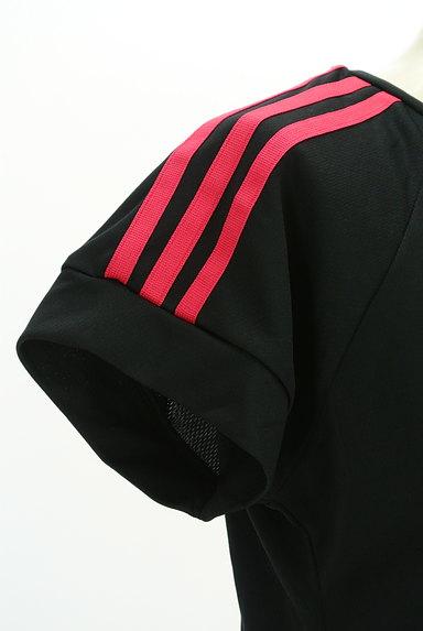 adidas(アディダス)の古着「ライン入りラグランTシャツ(Tシャツ)」大画像5へ