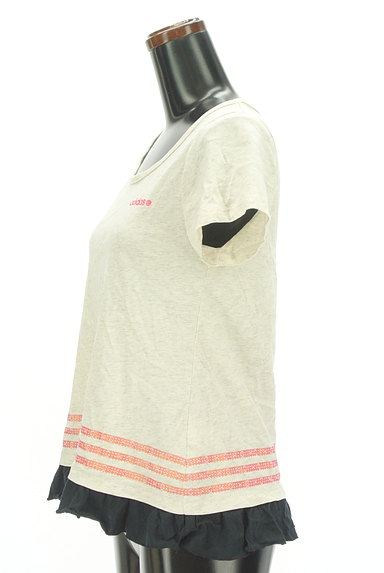 adidas(アディダス)の古着「フリルフレアカットソー(Tシャツ)」大画像3へ