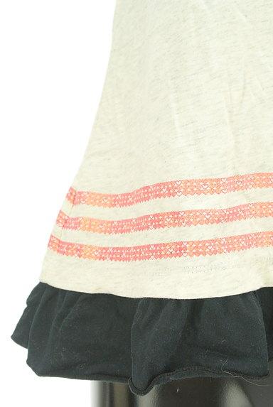 adidas(アディダス)の古着「フリルフレアカットソー(Tシャツ)」大画像5へ