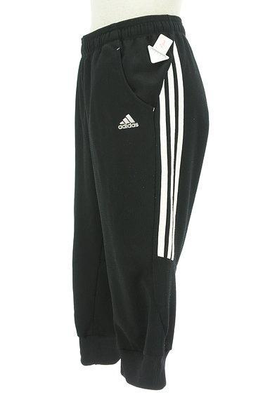 adidas(アディダス)の古着「サイドラインクロップド丈パンツ(ジャージボトムス)」大画像4へ