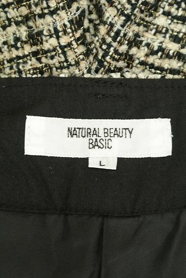 NATURAL BEAUTY BASIC(ナチュラルビューティベーシック)の古着「ハイウエストラメツイードショーパン(ショートパンツ・ハーフパンツ)」大画像6へ
