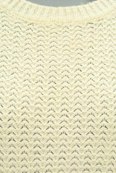 NATURAL BEAUTY BASIC(ナチュラルビューティベーシック)の古着「シンプルニット(ニット)」大画像4へ