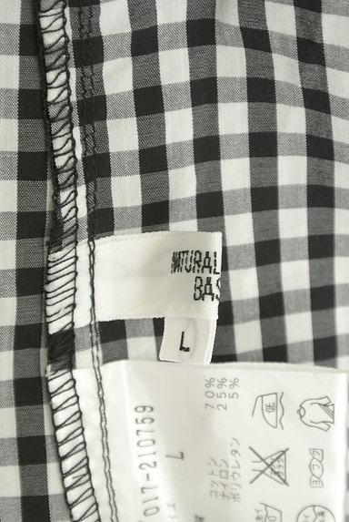 NATURAL BEAUTY BASIC(ナチュラルビューティベーシック)の古着「ギンガムチェック柄シャツ(カジュアルシャツ)」大画像6へ