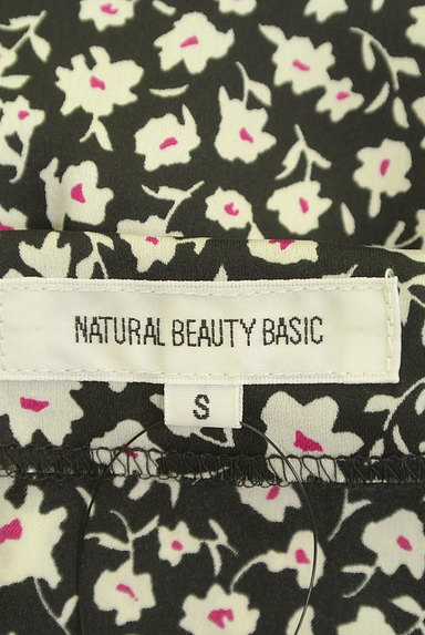 NATURAL BEAUTY BASIC(ナチュラルビューティベーシック)の古着「Vネック花柄マキシワンピース(ワンピース・チュニック)」大画像6へ