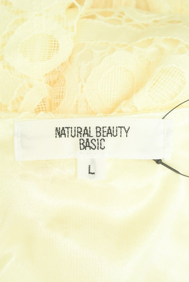 NATURAL BEAUTY BASIC(ナチュラルビューティベーシック)の古着「膝下丈総レースワンピース(ワンピース・チュニック)」大画像6へ