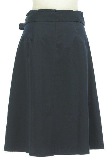 NATURAL BEAUTY BASIC(ナチュラルビューティベーシック)の古着「ベルト付きボックスプリーツ膝下丈スカート(スカート)」大画像2へ