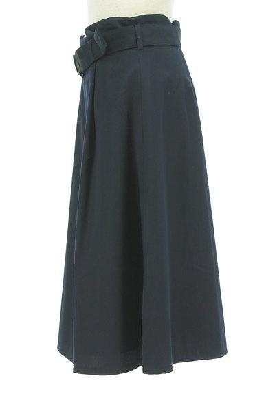 NATURAL BEAUTY BASIC(ナチュラルビューティベーシック)の古着「ベルト付きボックスプリーツ膝下丈スカート(スカート)」大画像3へ