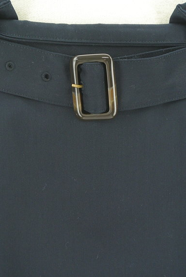 NATURAL BEAUTY BASIC(ナチュラルビューティベーシック)の古着「ベルト付きボックスプリーツ膝下丈スカート(スカート)」大画像4へ