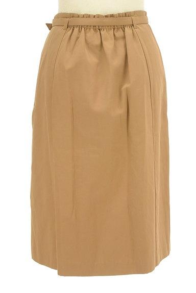 NATURAL BEAUTY BASIC(ナチュラルビューティベーシック)の古着「ベルト付きラップ風膝下丈スカート(スカート)」大画像2へ