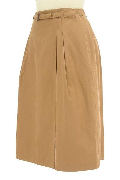 NATURAL BEAUTY BASIC(ナチュラルビューティベーシック)の古着「ベルト付きラップ風膝下丈スカート(スカート)」大画像3へ