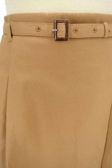 NATURAL BEAUTY BASIC(ナチュラルビューティベーシック)の古着「ベルト付きラップ風膝下丈スカート(スカート)」大画像4へ