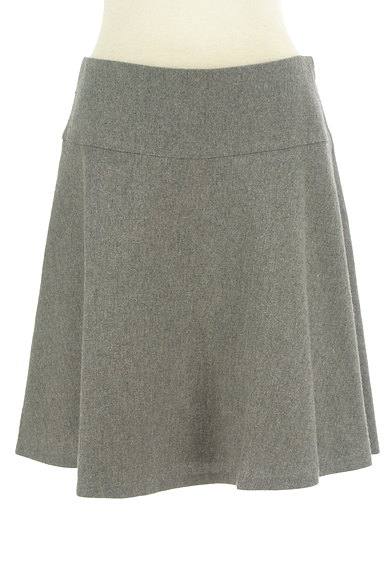 NATURAL BEAUTY BASIC(ナチュラルビューティベーシック)の古着「ウールフレアミニスカート(ミニスカート)」大画像1へ