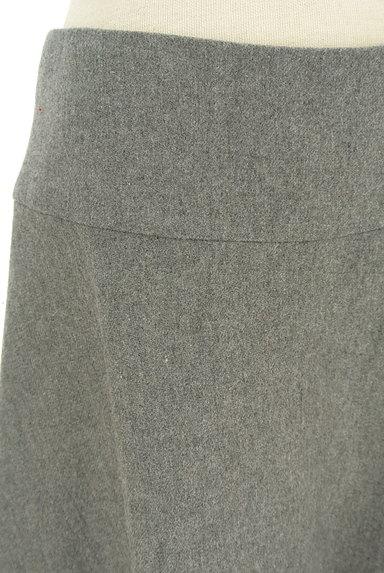 NATURAL BEAUTY BASIC(ナチュラルビューティベーシック)の古着「ウールフレアミニスカート(ミニスカート)」大画像4へ