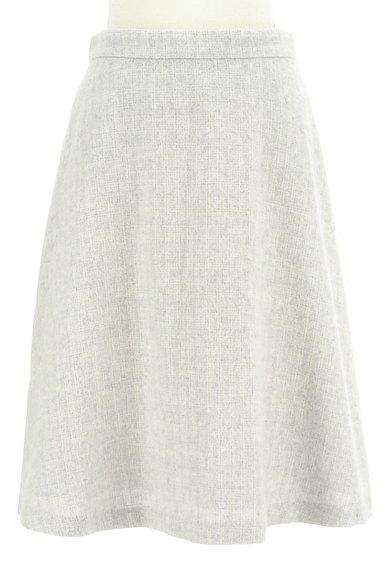 NATURAL BEAUTY BASIC(ナチュラルビューティベーシック)の古着「チェック柄ウールフレアスカート(スカート)」大画像1へ