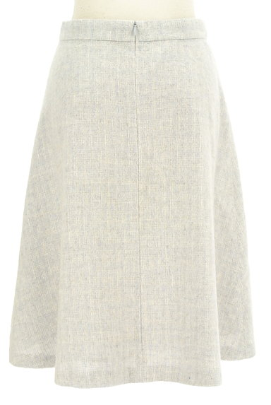 NATURAL BEAUTY BASIC(ナチュラルビューティベーシック)の古着「チェック柄ウールフレアスカート(スカート)」大画像2へ