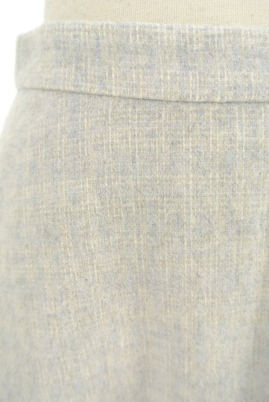 NATURAL BEAUTY BASIC(ナチュラルビューティベーシック)の古着「チェック柄ウールフレアスカート(スカート)」大画像4へ