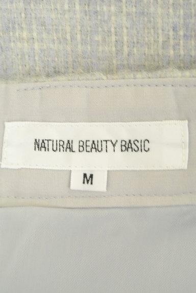 NATURAL BEAUTY BASIC(ナチュラルビューティベーシック)の古着「チェック柄ウールフレアスカート(スカート)」大画像6へ