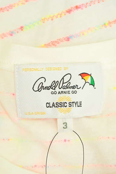 ARNOLD PALMER(アーノルドパーマー)の古着「カラフルネオンTシャツ(Tシャツ)」大画像6へ