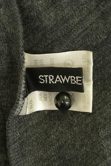 STRAWBERRY-FIELDS(ストロベリーフィールズ)の古着「ベロアリボン七分袖ワンピース(ワンピース・チュニック)」大画像6へ