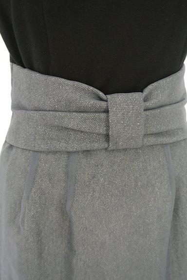 JUSGLITTY(ジャスグリッティー)の古着「ウエストリボン膝下丈バイカラーワンピ(ワンピース・チュニック)」大画像4へ