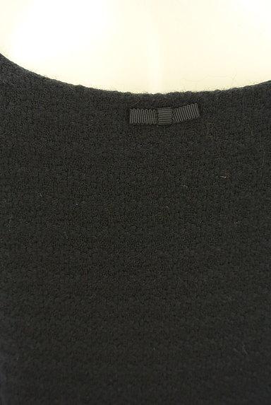 REBECCA TAYLOR(レベッカテイラー)の古着「膝丈フレア起毛ワンピース(ワンピース・チュニック)」大画像4へ