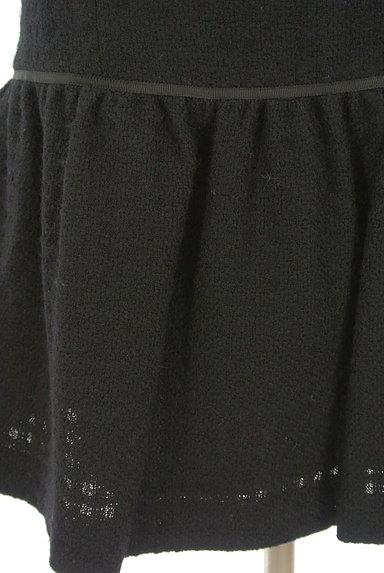 REBECCA TAYLOR(レベッカテイラー)の古着「膝丈フレア起毛ワンピース(ワンピース・チュニック)」大画像5へ